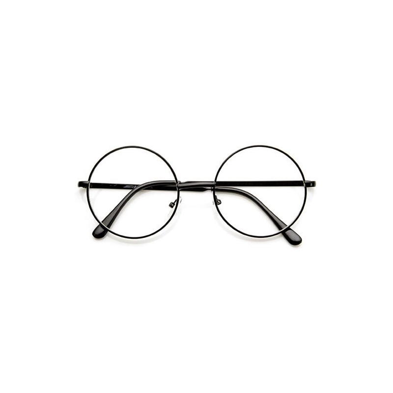 achat de lunettes lennon lunettes rondes de vue verres neutre. Black Bedroom Furniture Sets. Home Design Ideas