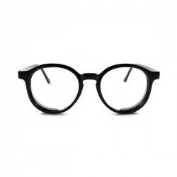 Lunettes rondes de vue noir pour femmes ou hommes
