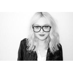 Montures de lunettes terry richardson noir model
