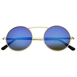Lunettes De Soleil Verres Bleus Miroir