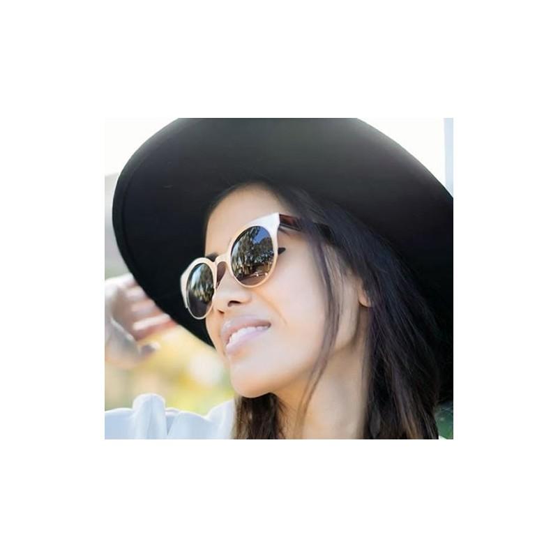 lunette de soleil papillon femme écaille model