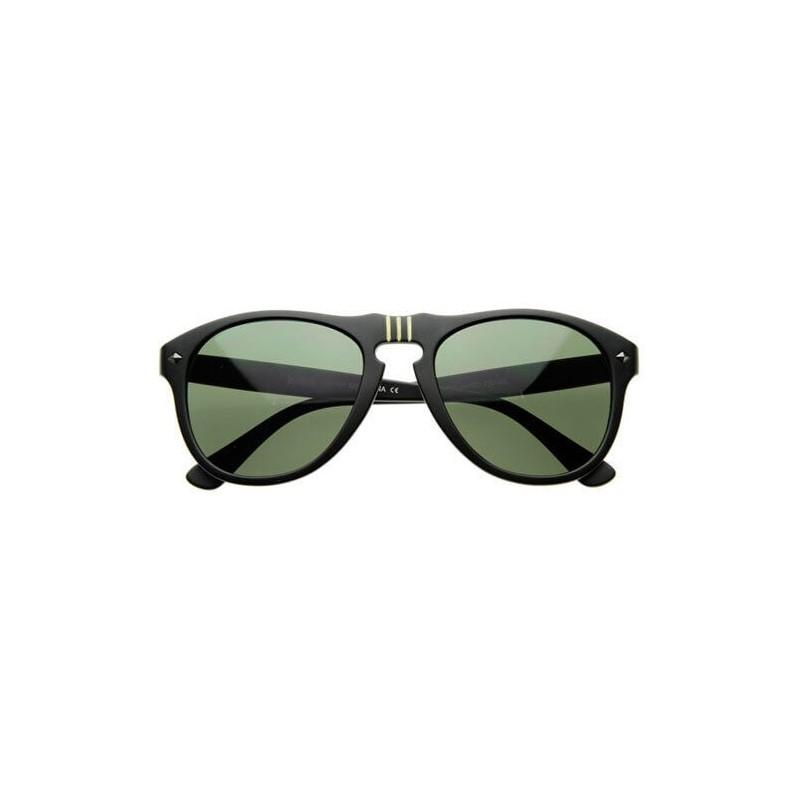 lunette de soleil vintage homme pas cher noir