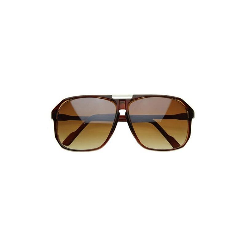 Style hipster lunettes de soleil pilote