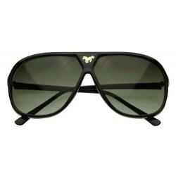 Lunettes de Soleil Aviateur Mustang Noir