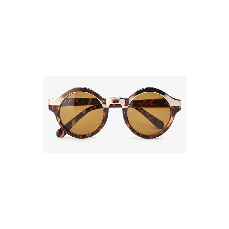 lunettes de soleil rondes femmes ecaille