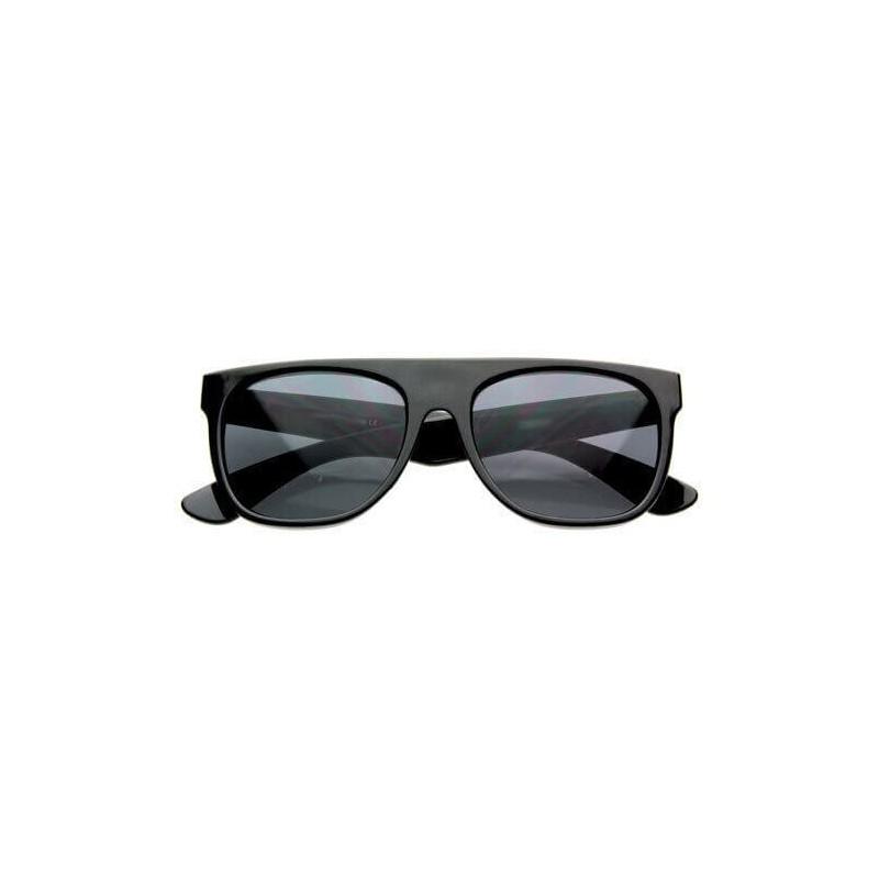 lunettes de soleil flat top noir