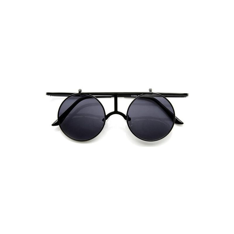 Steampunk lunettes de soleil noir