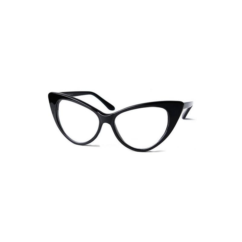lunettes papillon monture sans correction. Black Bedroom Furniture Sets. Home Design Ideas