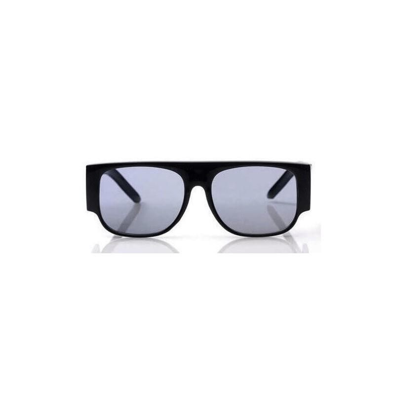 Super lunettes de soleil flat top noir large