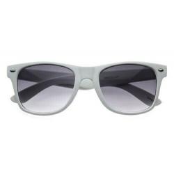 lunettes de soleil vintage blanche