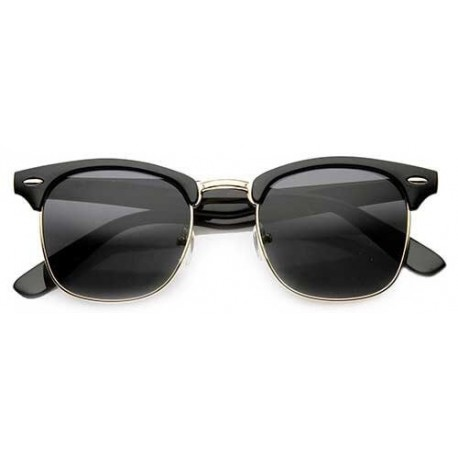 595b977910 Lunettes clubmaster - Monture solaire style clubmaster